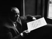 Composer Richard Rodgers Holding Score