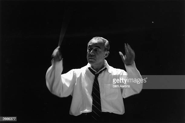 American composer Richard Rodgers who collaborated with lyricist Oscar Hammerstein on the popular musicals 'Oklahoma ' 'The Sound of Music' and 'The...