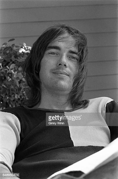 American composer singer and songwriter Jimmy Webb poses for a photo in 1973 in Los Angeles California