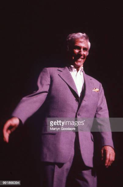 American composer songwriter record producer pianist and singer Burt Bacharach performs on stage at the Royal Festival Hall London 1998