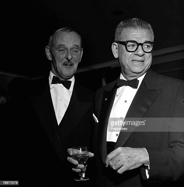 American composers Richard Rodgers and Oscar Hammerstein 1960