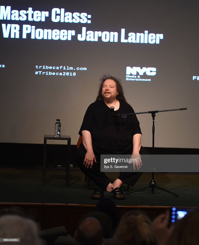 Tribeca Talks: Jaron Lanier - 2018 Tribeca Film Festival