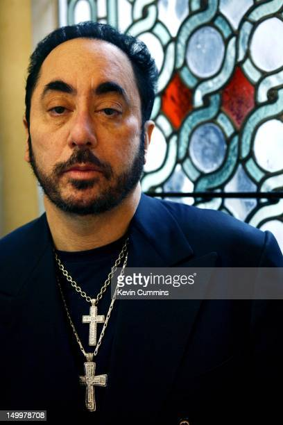 American concert promoter and television personality David Gest at Cadogan Hall London 8th December 2006