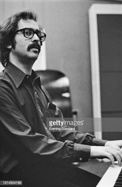 American conductor and keyboard player Joshua Rifkin, UK, 18th December 1973.