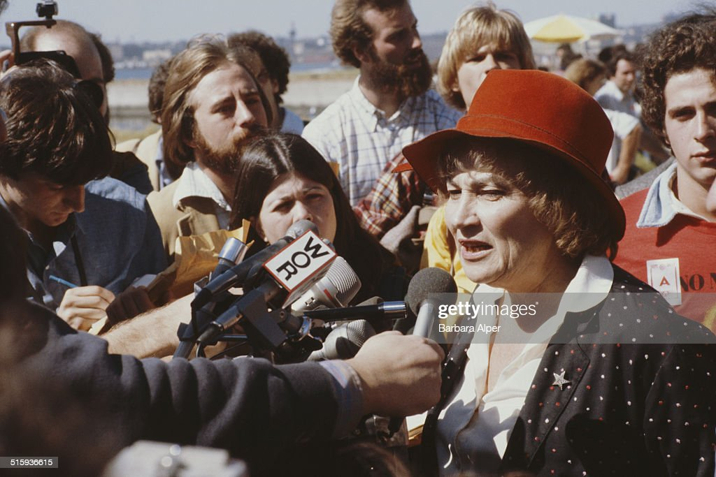 Bella Abzug : News Photo