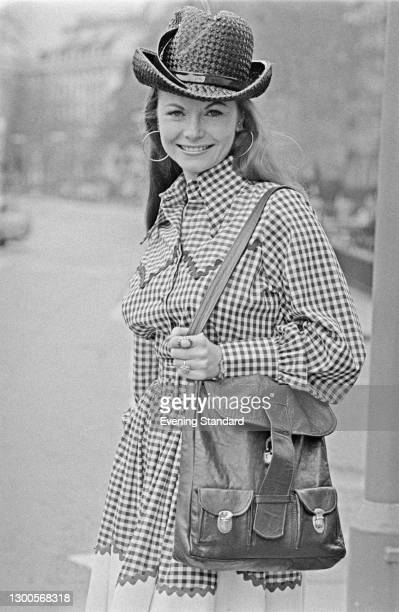 American country music and gospel singer Jeannie C. Riley, UK, 21st April 1973.
