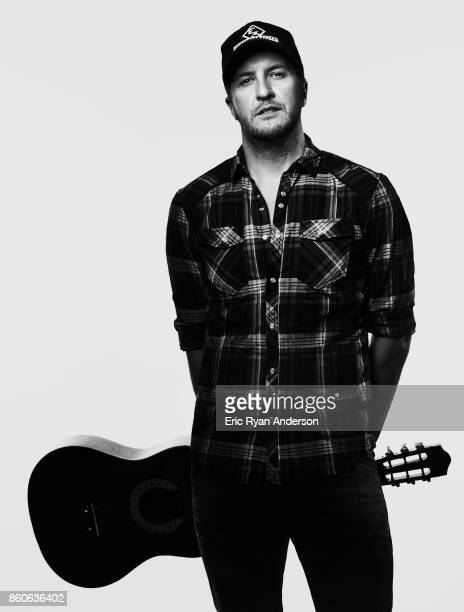 American country music artist Luke Bryan is photographed at the 2017 CMA Festival for Billboard Magazine on June 8 2017 in Nashville Tennessee