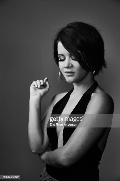 American country music artist Maren Morris is photographed at the 2017 CMA Festival for Billboard Magazine on June 8 2017 in Nashville Tennessee