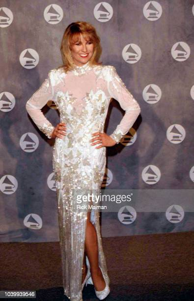 American country music artist Tanya Tucker at Grammy Awards