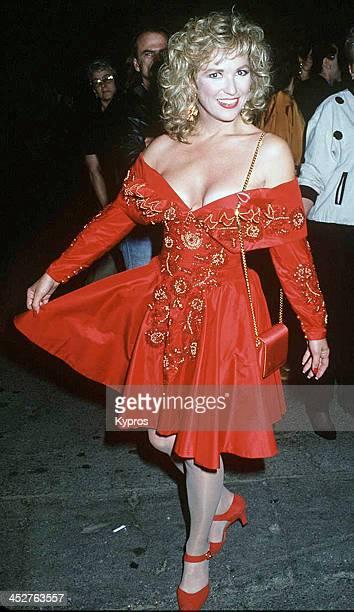 American country music artist Tanya Tucker circa 1992