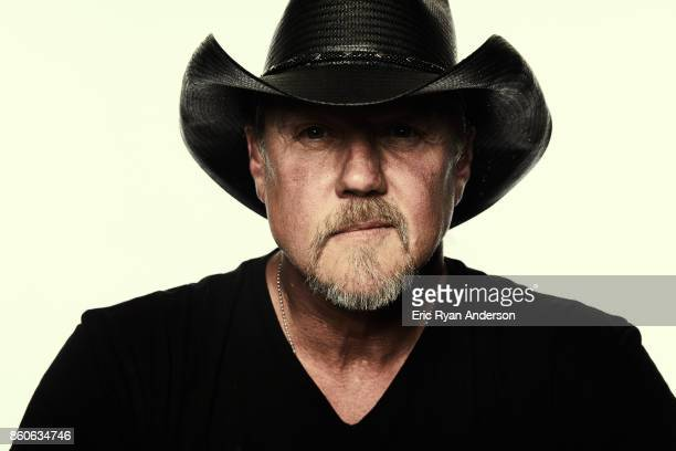 American country music artist Trace Adkins is photographed at the 2017 CMA Festival for Billboard Magazine on June 8 2017 in Nashville Tennessee