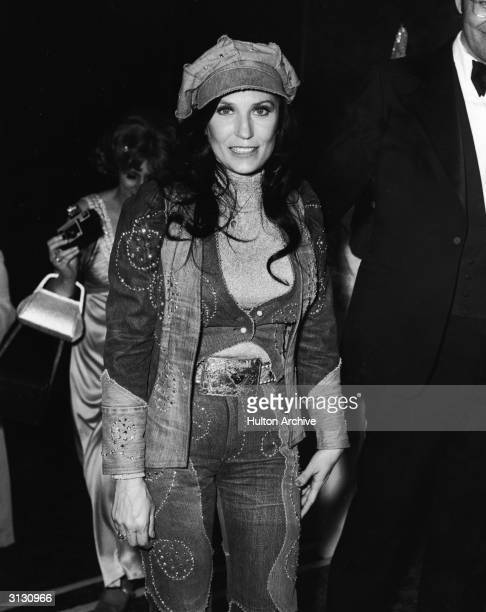 American country music singer and guitarist Loretta Lynn at the Country Western Music Awards in Hollywood California February 27 1975