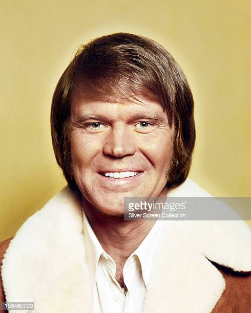 American country music singer and TV host Glen Campbell, circa 1975.