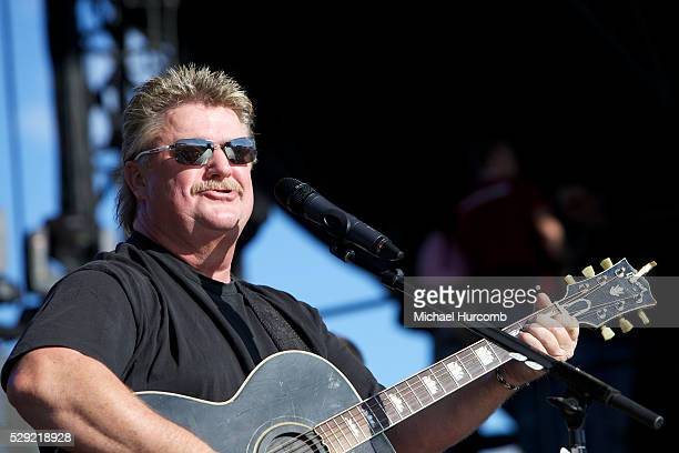 American country music singer Joe Diffie performs at the 2013 Boots and Hearts Music Festival in Bowmanville Ontario on August 3 2013