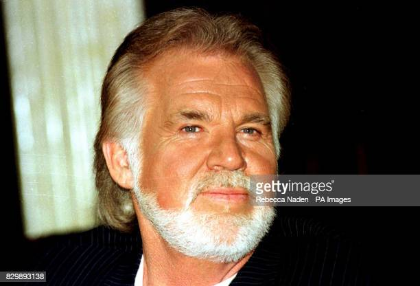 American country music singer Kenny Rogers