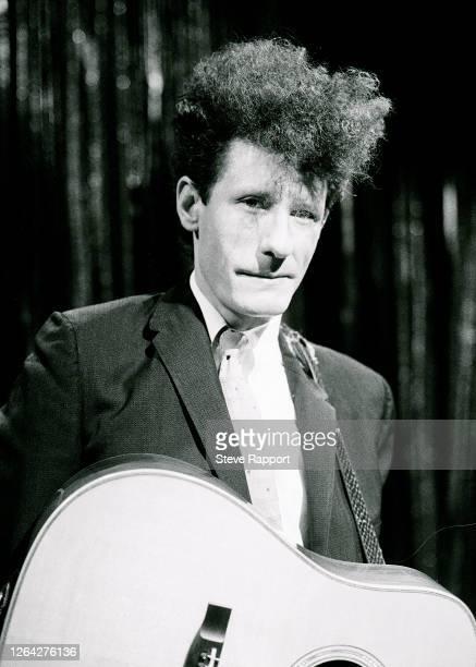 American Country Pop musician Lyle Lovett ITV's 'Night Network' South Bank London 2/25/1988