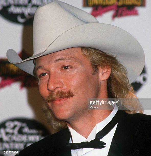 American country singer and songwriter Alan Jackson at the 27th Annual Academy of Country Music Awards USA 29th April 1992