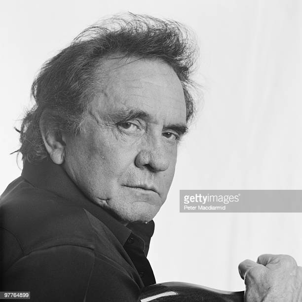 American country singer and songwriter Johnny Cash in London 4th July 1994