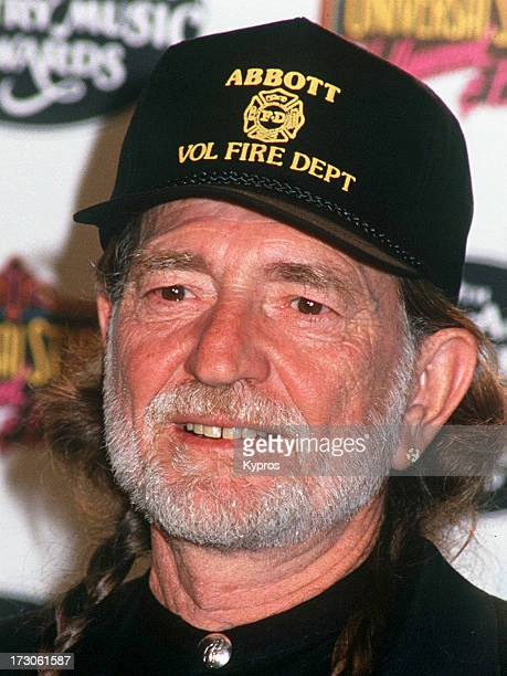 American country singer and songwriter Willie Nelson at the 27th Academy of Country Music Awards, USA, 1992.