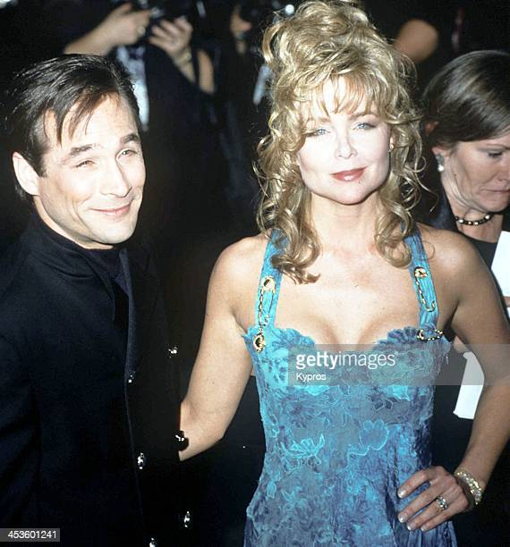 American country singer Clint Black and his wife actress and singer Lisa Hartman Black during the 10th Carousel of Hope Ball to benefit juvenile...