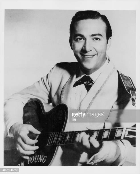 American country singer Faron Young circa 1955