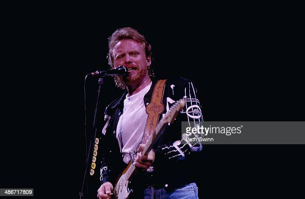 American country singer Lee Roy Parnell on stage 1994