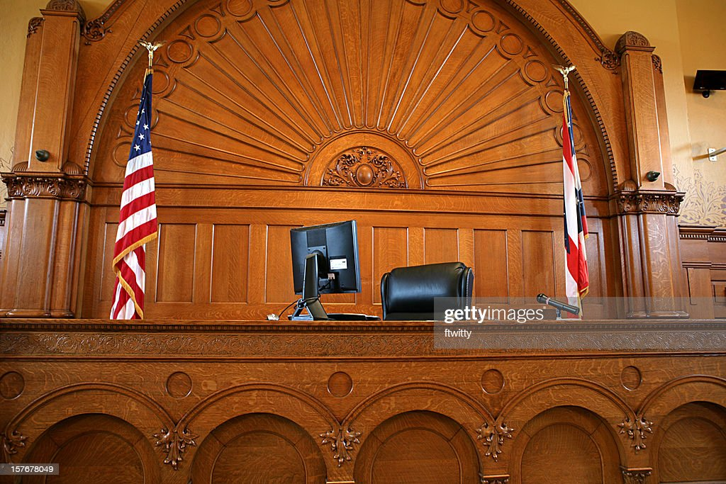 American Courtroom : Stock Photo