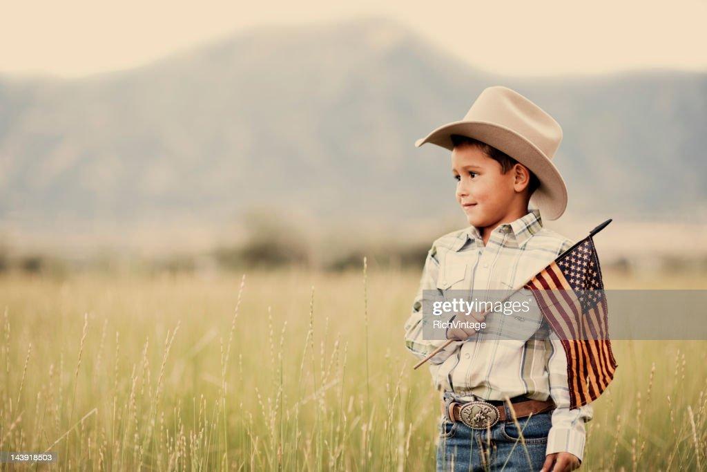 Amerikanische Cowboy : Stock-Foto