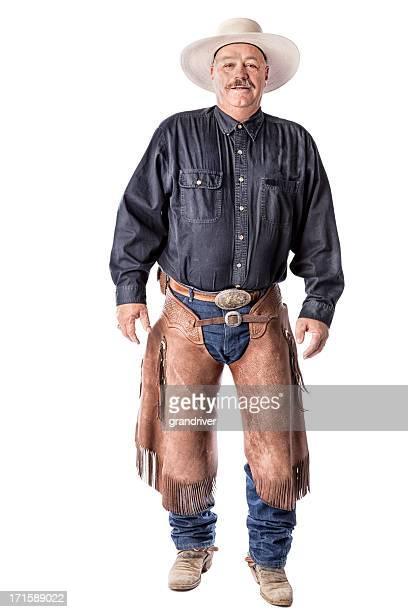 cowboy americano - pantalón de cuero fotografías e imágenes de stock
