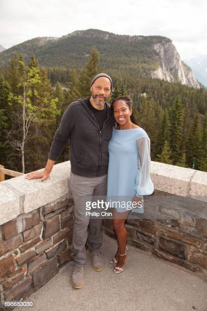 'American Crime' Executive Producer Writer and Director John Ridley and Actor Regina King attend the 2017 Banff Media Festival at the Fairmont Banff...
