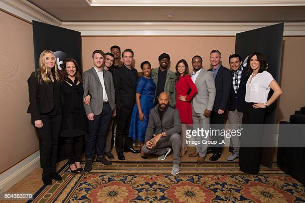 TOUR 2016 'American Crime' The cast and executive producers of 'American Crime' at Disney | ABC Television Group's Winter Press Tour 2016 Image Group...