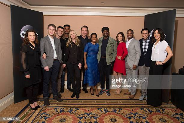 TOUR 2016 American Crime The cast and executive producers of American Crime at Disney | Walt Disney Television via Getty Images Television Group's...