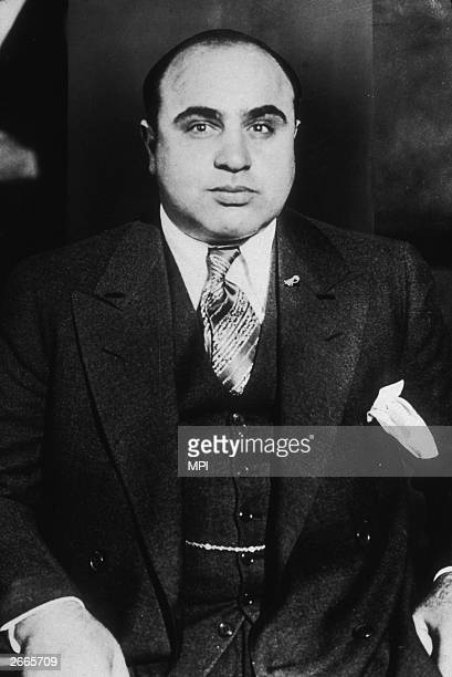 American criminal Al Capone . The Saint Valentine's Day massacre cemented his control over the Chicago underworld, he was finally imprisoned for tax...