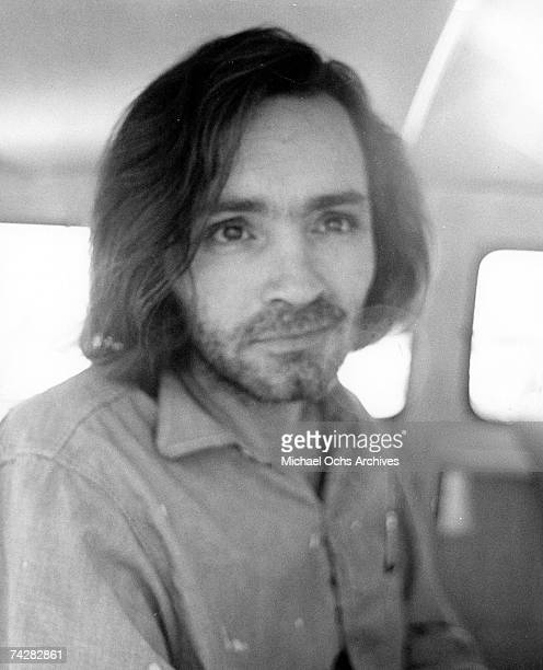 Photo of Charles Manson Photo by Michael Ochs Archives/Getty Images