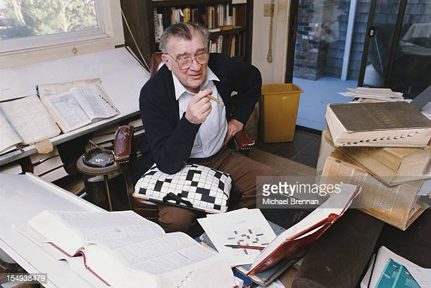 American crossword puzzle compiler and editor Eugene Thomas Maleska Massachusetts 1988 Maleska was New York Times crossword editor from 1977 until...