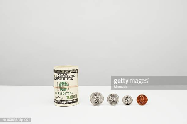 american currency, close-up - microzoa stock pictures, royalty-free photos & images