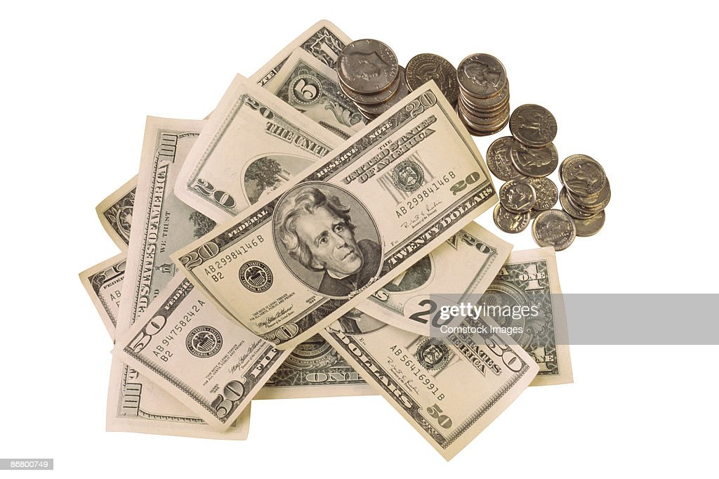 American currency : Stock Photo