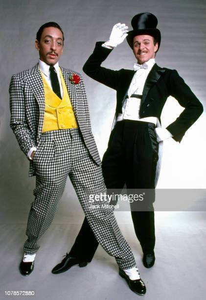 American dancer actor singer and choreographer Gregory Hines in costume for his starring role in 'Sophisticated Ladies' on Broadway studio photo...