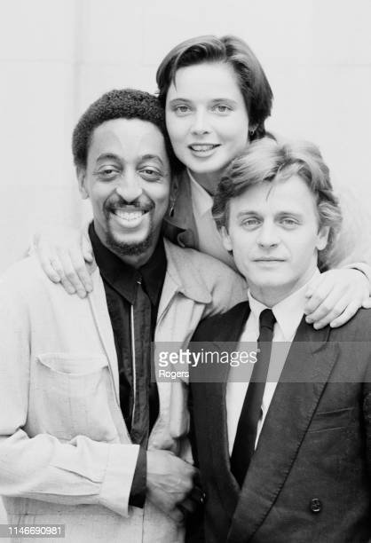 American dancer, actor, singer, and choreographer Gregory Hines , Italian actress, filmmaker, author, philanthropist, and model Isabella Rossellini...