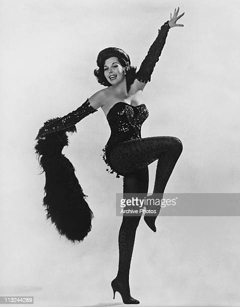 American dancer actress and singer Ann Miller in the 1940's