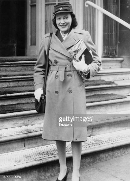 American dancer and actress Adele Cavendish née Astaire the wife of Lord Charles Cavendish and elder sister of actor Fred Astaire in the West End of...