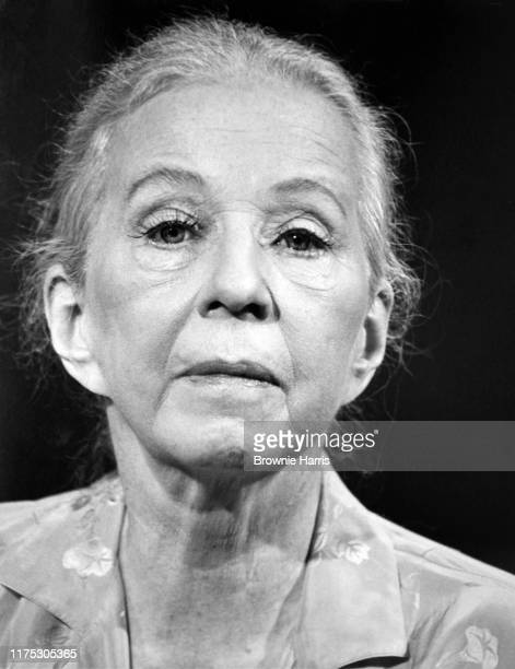 American dancer and choreographer Agnes de Mille New York New York December 16 1979