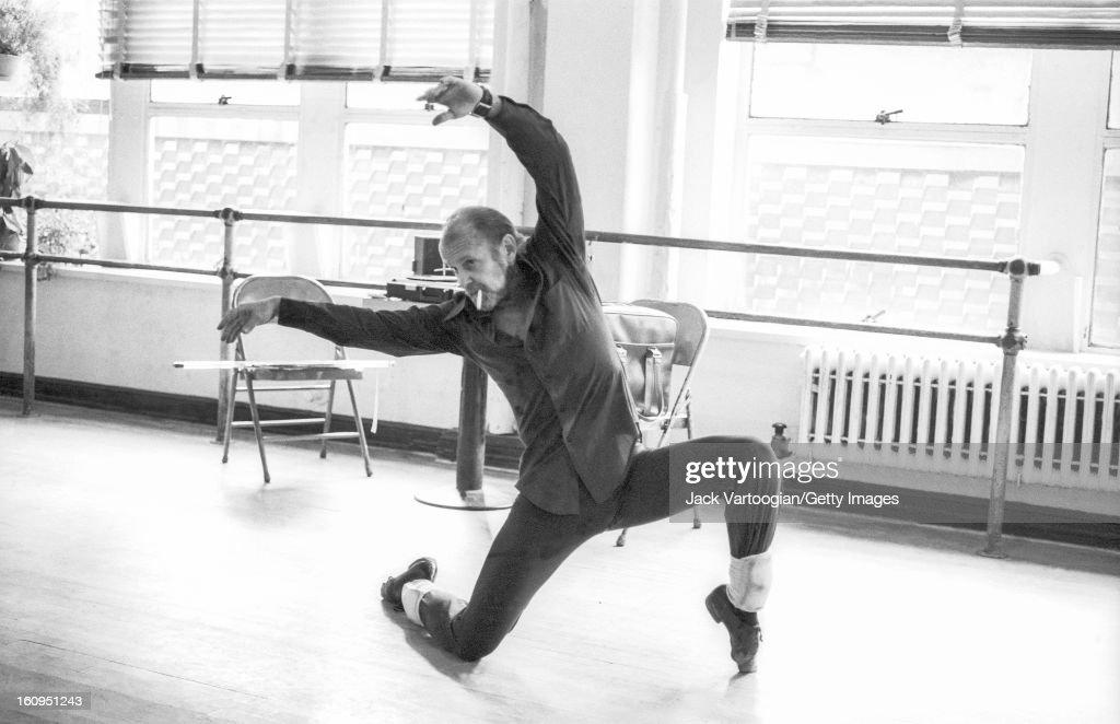 Bob Fosse At The Broadway Arts Studio : News Photo