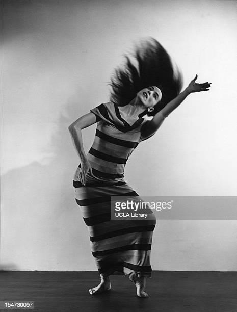 American dancer and choreographer Martha Graham perform 'Satyric Festival Song' New York New York 1935