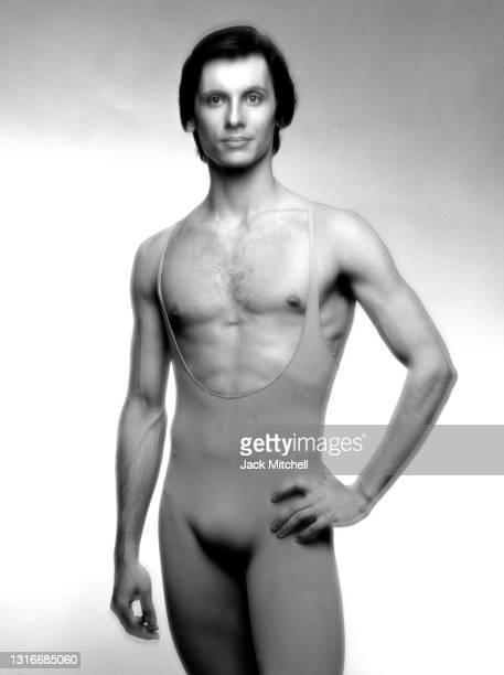 American dancer George de la Pena from the American Ballet Theater, New York, New York, June 1981.
