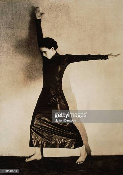 American dancer Martha Graham appearing in 'Strike' Graham Martha American dancer teacher choreographer and pioneer of modern dance