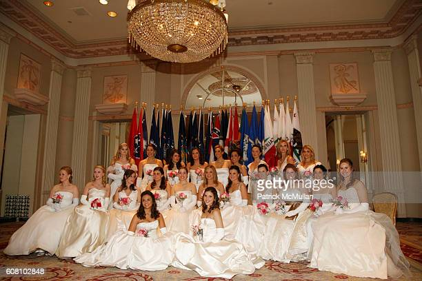 American Debutante's attends Fifty Second Anniversary International Debutante Ball at The Waldorf Astoria on December 29, 2006 in New York City.
