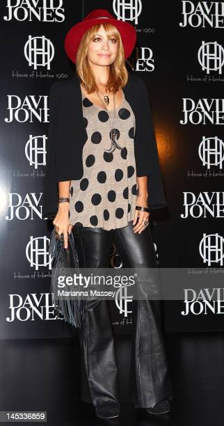 American designer Nicole Richie poses for photographs at a House of Harlow launch event at David Jones Elizabeth Street on May 26 2012 in Sydney...