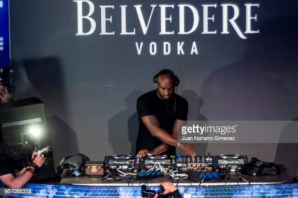American designer Virgil Abloh attends Belvedere Vodka party at Capitol Cinema on May 10 2018 in Madrid Spain