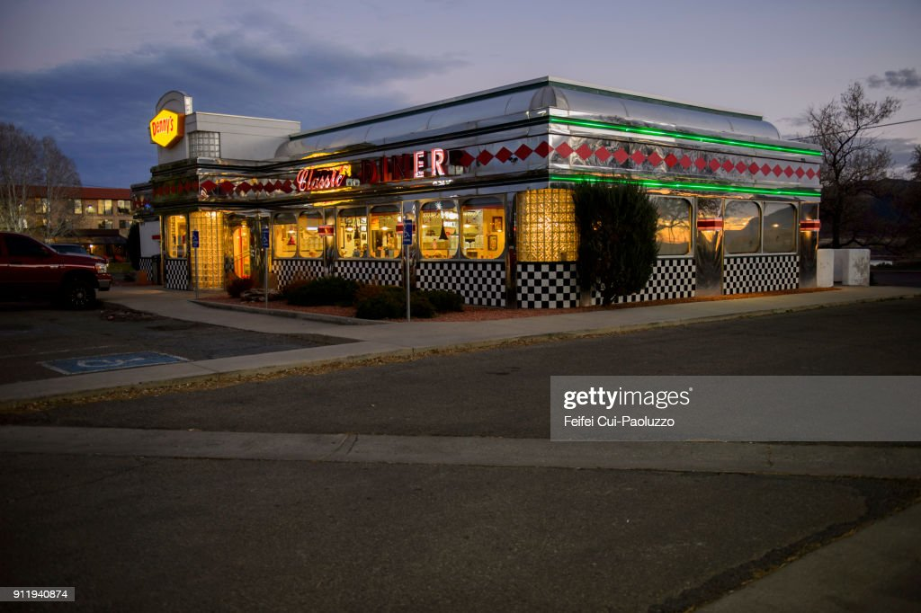 American Diner At Cortez Colorado Usa Foto De Stock Getty Images